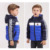 Niños Parka 2016 Nuevos Niños de Invierno Patchwork Abajo Muchachos de la Capa Abrigo con capucha de ropa Para Niños Chaqueta Abajo para La Muchacha Chaleco Chaqueta Parkas