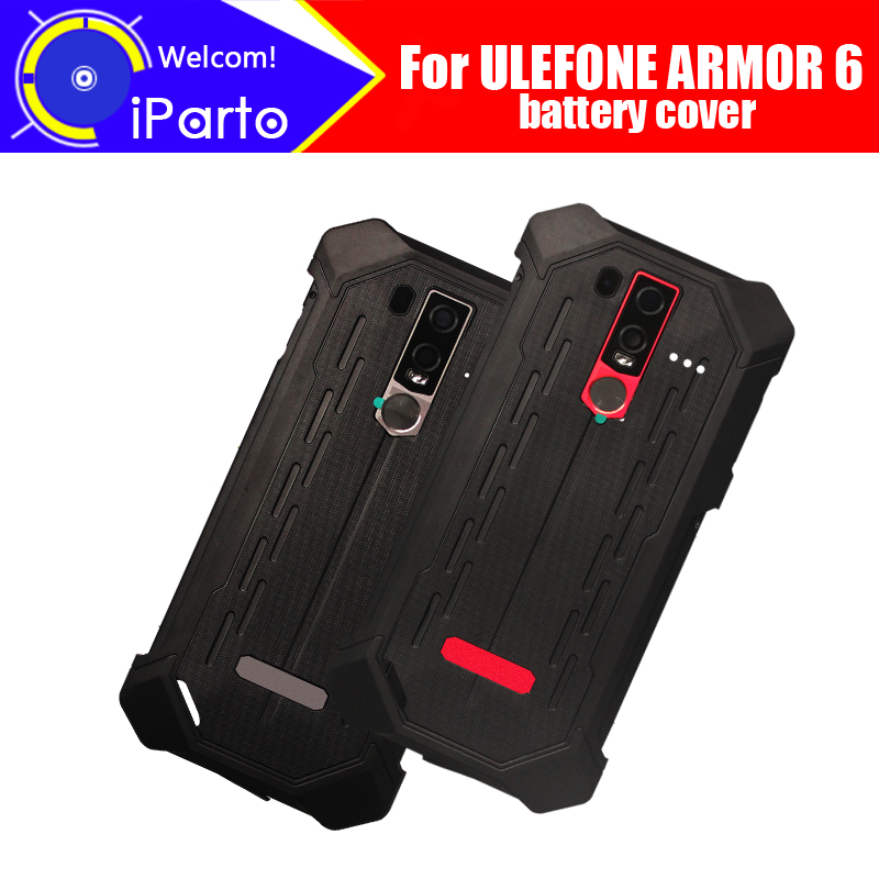 6.2 inch ULEFONE ARMOR 6 Battery Cover 100% Original New Durable Back Case Mobile Phone Accessory for ULEFONE ARMOR 6