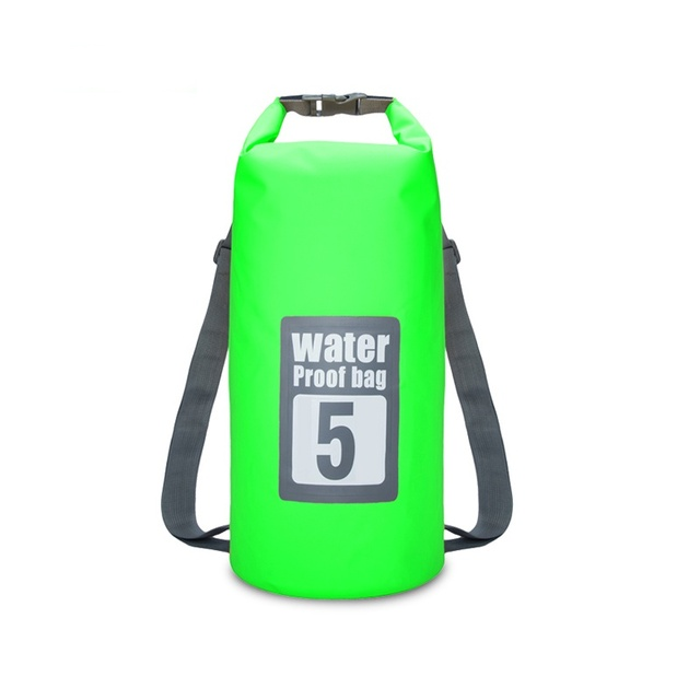 5L, 10L Outdoor Surf Waterproof Dry Bag Printing Beach Bag PVC Boat Submarine Swimming Folding Storage Bag
