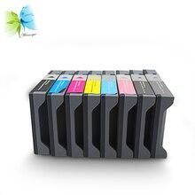 Winnerjet 220ml 8 pcs/lot printer cartridge for Epson stylus pro 7400 9400 inkjet cartridge full with pigment ink