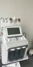 Мощный 6 в 1 Малогабаритный пузырьковый спа аппарат H2O2, гидро водяной вакуумный алмазный пилинг, устройство для очистки лица