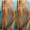 2016 new women skirts sexy skirts beach holidays Bohemian Hollow Out Floor-Length Empire long skirt faldas fashion maxi skirt