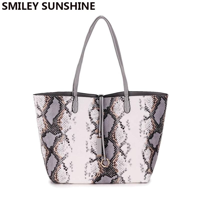 SMILEY SUNSHINE serpantin kompozit kadın çanta çanta büyük - Çanta - Fotoğraf 3