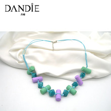 Dandie Fashion Acrylic Long Strip Necklace, Jewelry New Arrival 2018