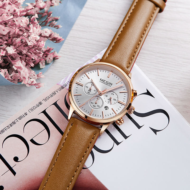 Image 2 - MEGIR Luxury Quartz Women Watches Brand Fashion Sport Ladies Lovers Watch Clock Relogio Feminino for Female Wristwatches 2011-in Women's Watches from Watches