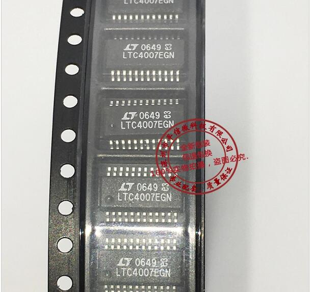 10pcs/lot LTC4007EGN SSOP24 10pcs lot rjk5010