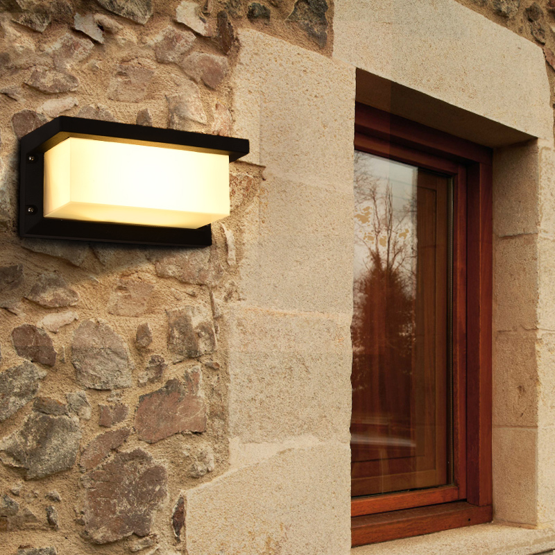 Balcony Aisle Outdoor Wall Lamp Waterproof Courtyard Lamp led Modern led Waterproof Wall Lamp Garden Outdoor Exterior Wall Light outdoor small column courtyard wall lamp post villa exterior wall lamp lu8141400