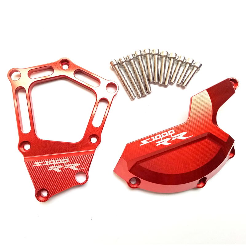 Image 5 - S1000RR S 1000 R RR XR Motorcycle CNC Engine Saver Stator Case Cover Crash Protector Guard for BMW S1000RR HP4 S1000R S1000XR-in Falling Protection from Automobiles & Motorcycles