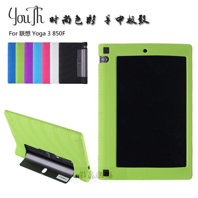 buy online 85b9b 1545b US $7.28 23% OFF Case for Lenovo Yoga Tablet 3 850F, GARUNK Fashion Silicon  Soft Back Cover Pouch for Lenovo Yoga Tab 3 8.0'' Tablet Accessories-in ...