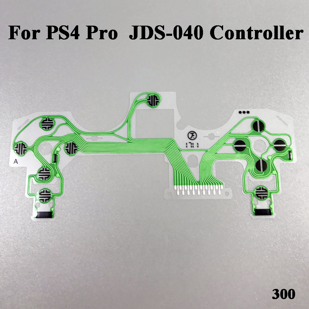 New Version Conductive JDM-040 Film Keypad flex Cable Ribbon Circuit Board for SONY Dualshock 4 Pro PS4 Pro JDM-040 Controller 50 pcs new for nintendo 3ds xl oem original new led speaker flex ribbon cable for 3ds xl