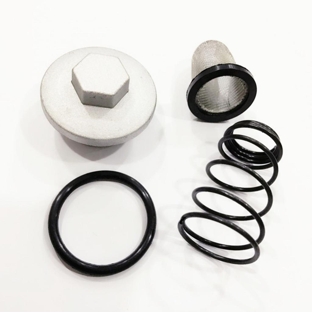 Perfeclan Oil Filter Drain Plug O-Ring Kit for GY6 50cc 125cc 150cc Moped Benzhou Znen