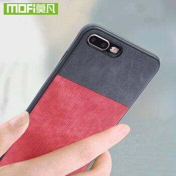 Para iphone 7 8 Mais caso Para iphone 7 8 Além de calças de brim de couro tampa da caixa do silicone de luxo Mofi original Para iphone 7 8 além disso caso 360