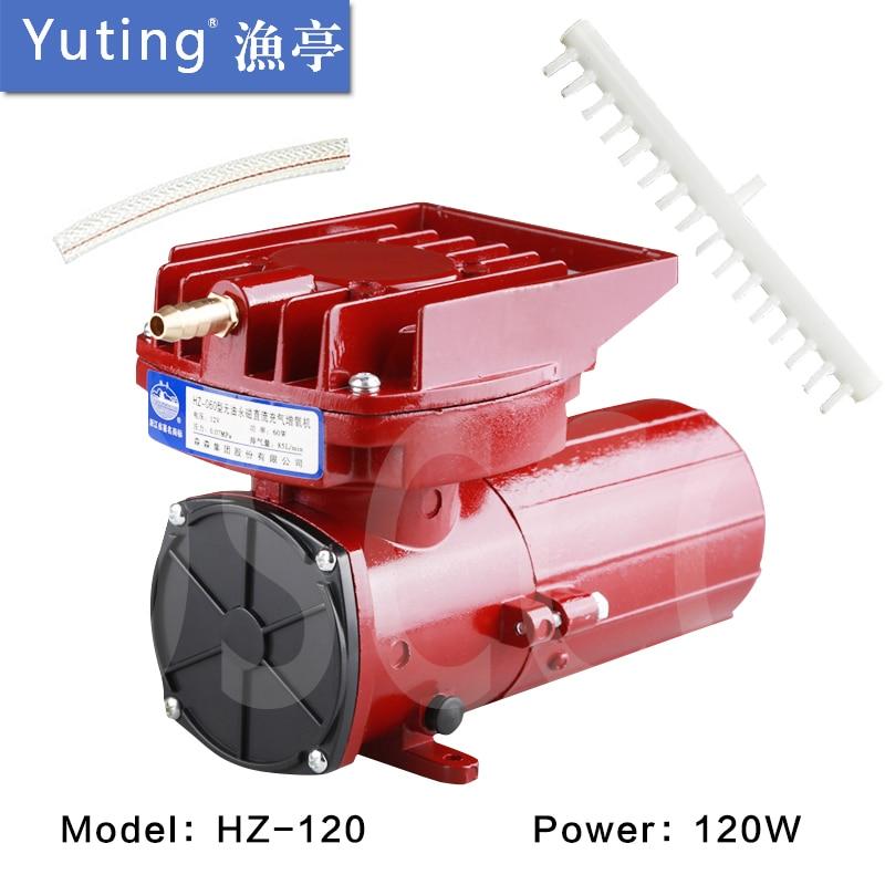 120W SUNSUN YUTING DC air pump Permanent magnet DC aeration pump HZ 120 12 volts battery