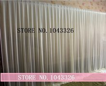 2m X 35m wedding party event stage decoration drapery curtain drape backdrop(China)