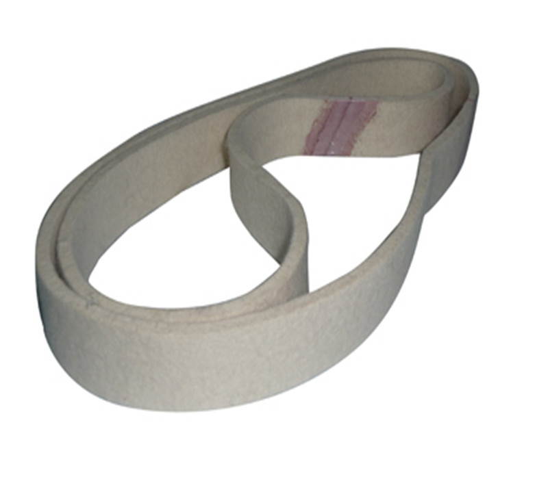 760mmX40mm Wool Felt Polishing Belt Abrasive Belts For Grinding All Metals