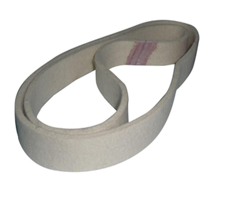760mmX40mm Wool Felt Polishing Belt Abrasive Belts For Grinding All Metals