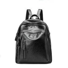 Натуральная Кожа Рюкзак 2017 студенты путешествовать рюкзак рюкзак Продвижение Известный Дизайнер Девушка Школьная Сумка Женщины Дорожная Сумка