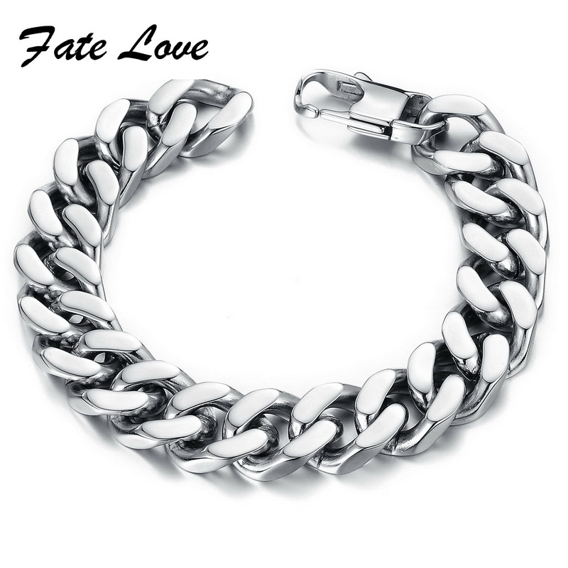 Fate Love PUNK Biker 316L STAINLESS Steel Menss