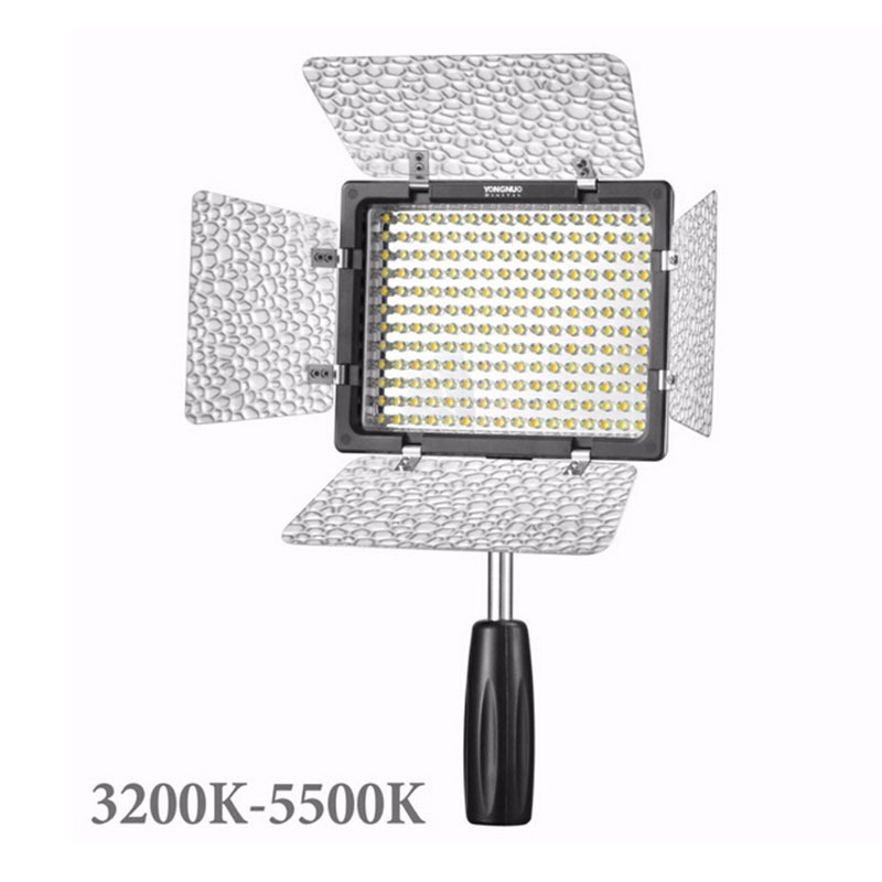 Yongnuo YN160 III 3200 5500K CRI95 160 LED Video Light Suit for Canon Nikon Sony DSLR