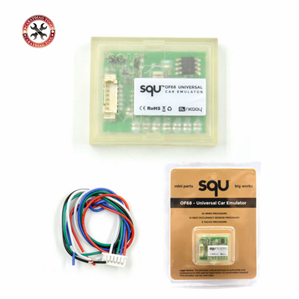 SQU OF68 sensor de ocupação Do Assento do Emulador IMMO Suporte Do Carro Universal Programas Para VAG Tacho Para Muitos Carros Frete Grátis