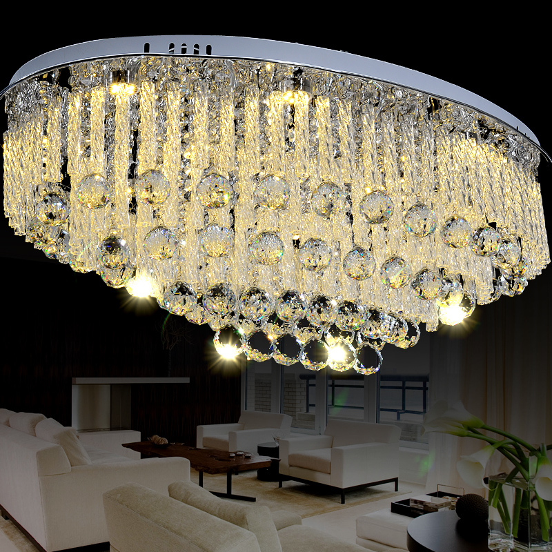 Free Shipping Modern Crystal Chandelier For Living
