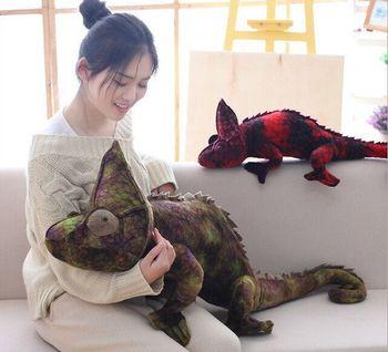 large 95cm creative cartoon lizard plush toy lovely lizard soft doll hugging pillow Christmas gift b1539