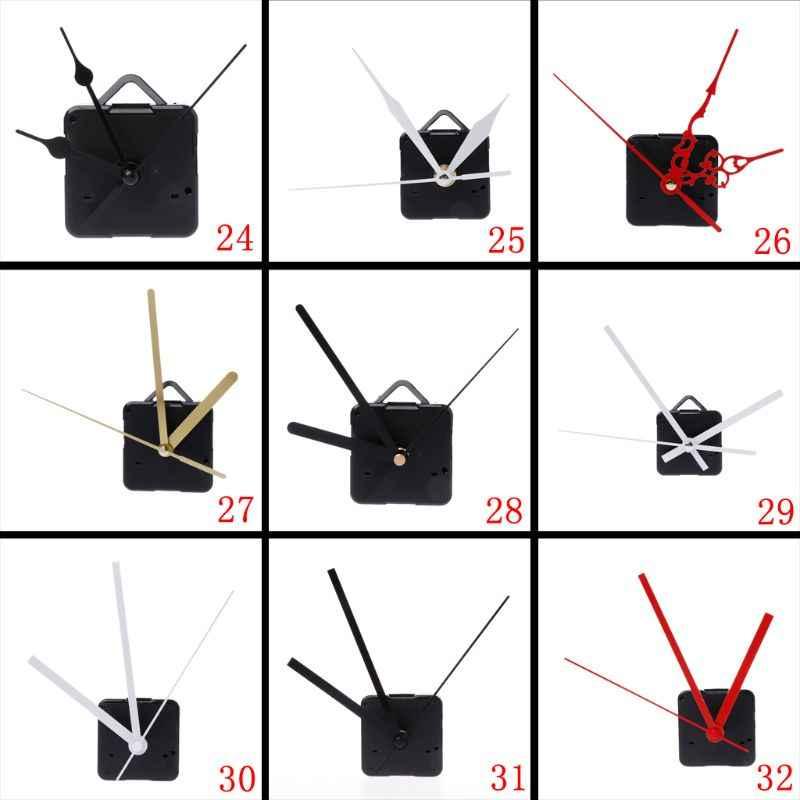 Kit silencieux de pièces d'outils de réparation de mains de mécanisme de mouvement d'horloge de Quartz