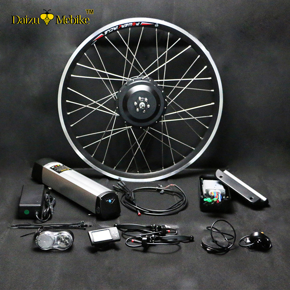 New Arrival 36V and 48V 250W-500W Electric Bike kit for Adult&Child Quick Folding ebike 202426700C27.528 Wheel ebike rockbros titanium ti pedal spindle axle quick release for brompton folding bike bicycle bike parts