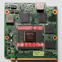 8600MGT 8600M GT 512MB G84-600-A2 Video Card VAG Card For asus A8S F8S V1S VX2 VX2S Z99S X81S F8SV Laptop