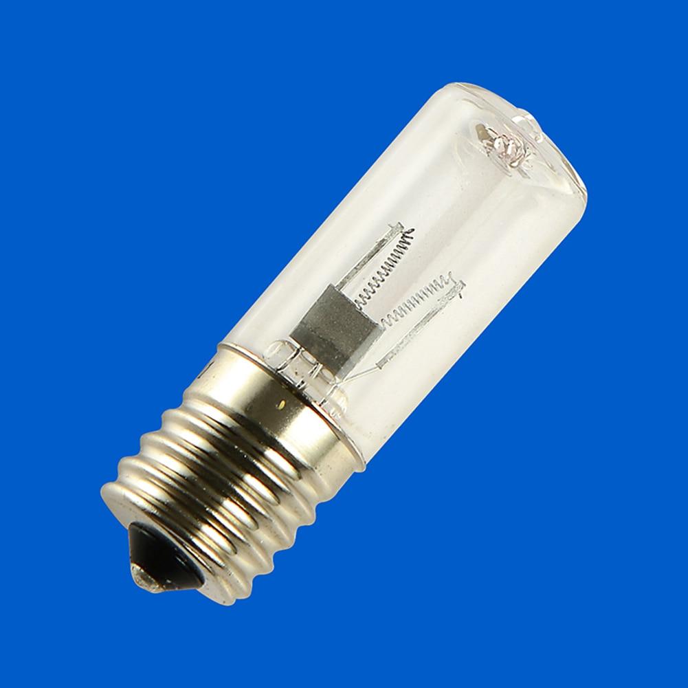 Le Jeune moderne.Cuisine-Lampe UV frigo 3W E17 stérilisateur ultraviolet 12V-Lampe germicide UV pour frigo ou micro-onde. Puissance 3W et douille E17. Détruit 99,99% des bactéries en contact avec les rayons UV. Vérifier bien le format de la douille de votre frigo ou votre micro-onde et si il elle est alimentée en 12v. La majorité le sont.