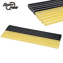 Hot Melt Glue Sticks 5pcs Black 5pcs yellow color wrok in Electric Glue Gun use for Craft Album PDR Car Dent Repair Tools