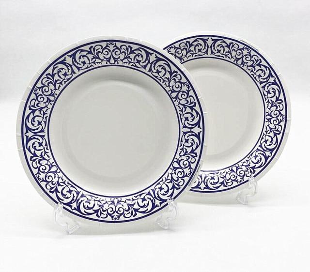 Free Shipping 100pcs 8\u0027\u0027 Blue White Porcelain Paper Plates for Valentine Birthday Wedding Nursery  sc 1 st  AliExpress.com & Free Shipping 100pcs 8\u0027\u0027 Blue White Porcelain Paper Plates for ...