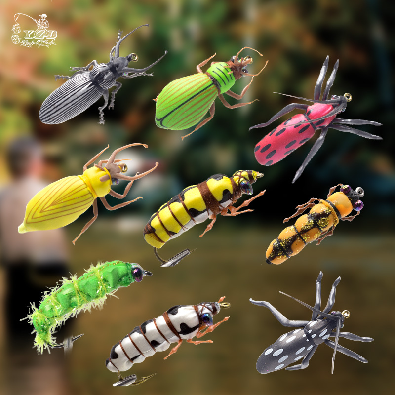 leurre truite insecte