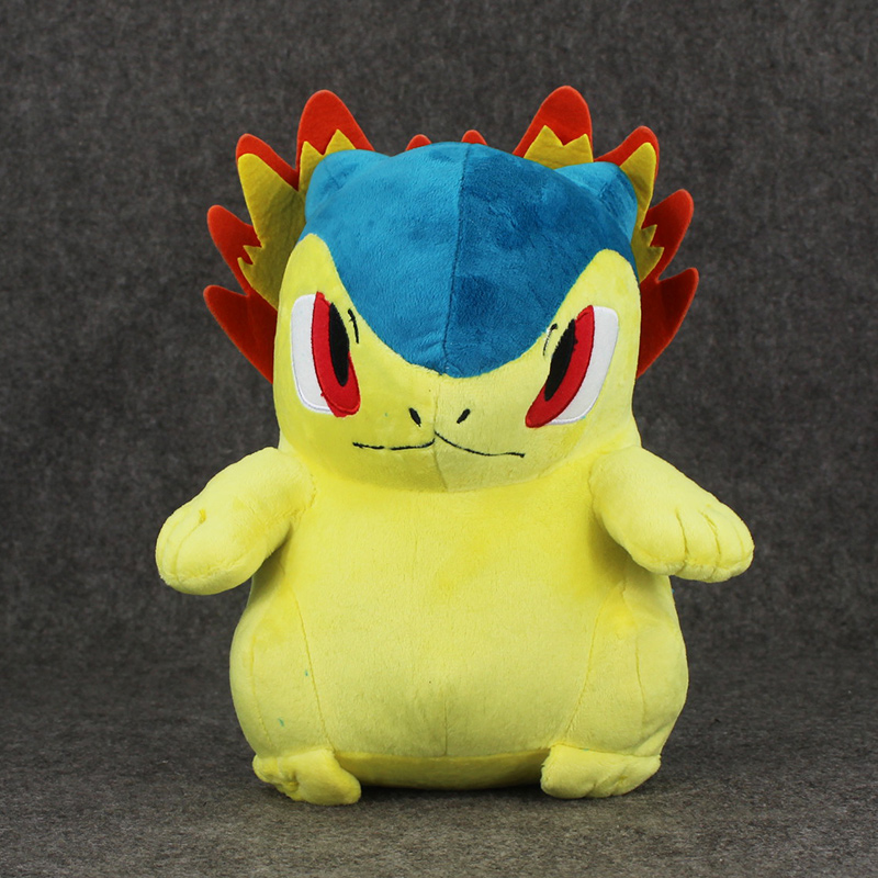 28cm Typhlosion Plush Toys Cartoon Doll With Soft Stuffed XMAS Kids Doll28cm Typhlosion Plush Toys Cartoon Doll With Soft Stuffed XMAS Kids Doll