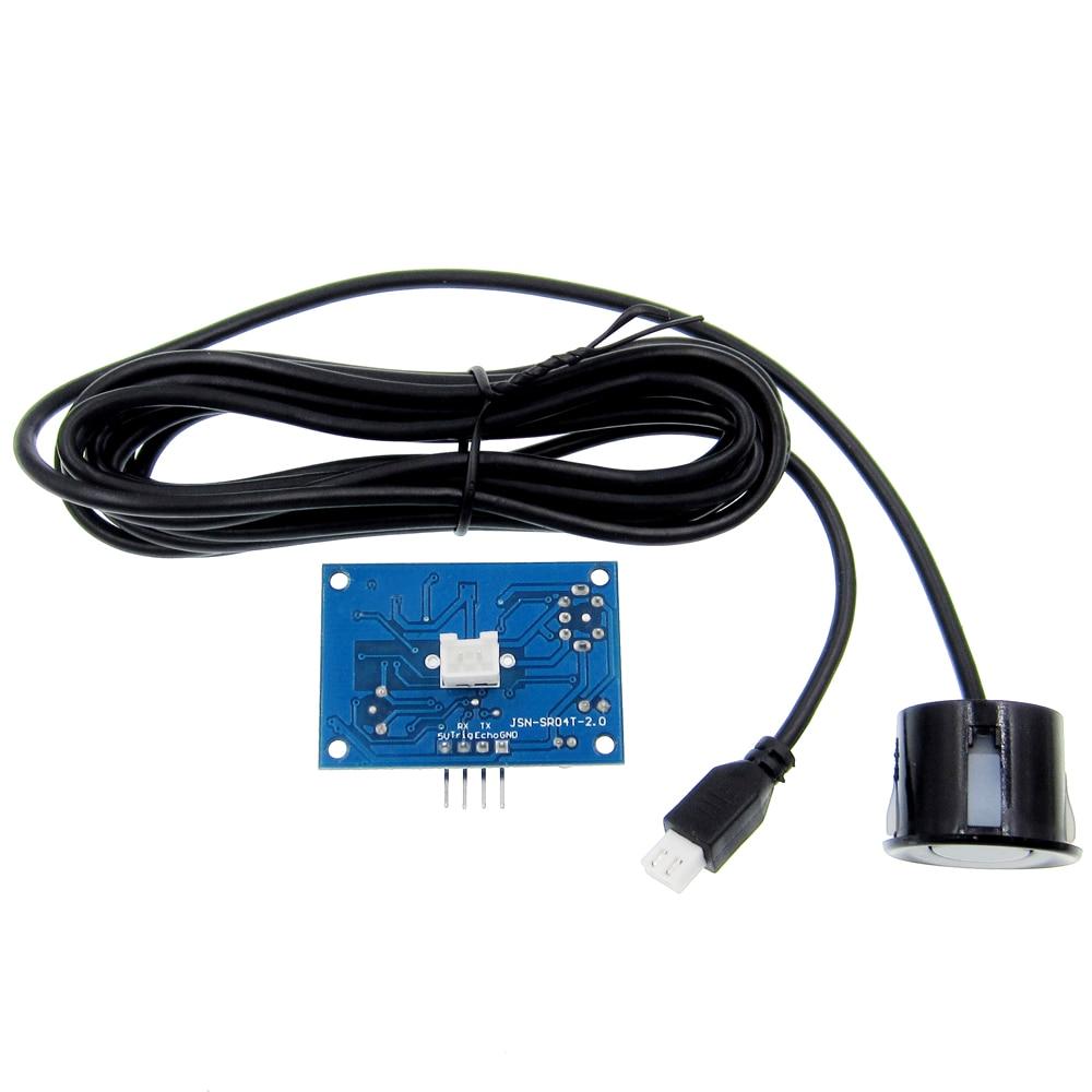 Waterproof Ultrasonic Module JSN-SR04T Water Proof Integrated Distance Measuring Transducer Sensor hc sr04 ultrasonic module distance measuring transducer sensor with mount bracket