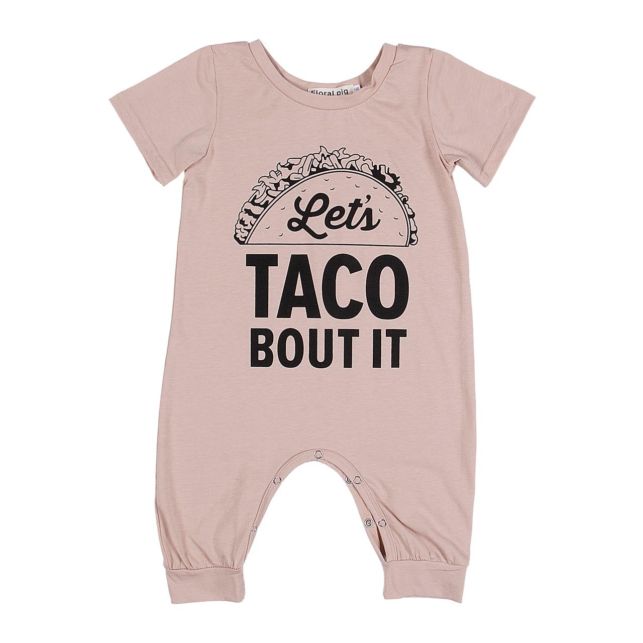 1e0a6e442086 2018 Nsummer bulk summer Newborn Infant Baby Boy Girl Kids Cotton taco bout  it Romper Jumpsuit Clothes Outfit 6-18M