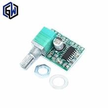 PAM8403 мини 5 В цифровой усилитель доска с потенциометра переключателя может быть питание от порта USB