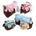 2 Producto de Cuidado de Bebés UNIDS/SET Nuevo Envío Libre Bolsa de Pañales Mochila Multifuncional Momia Bolsas de Pañales Del Bebé Bolsa de Maternidad Mamá