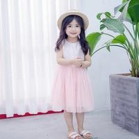 2017 Summer Girl Dresses Children S Clothing Korean Kids Dress Sequined Sleeveless Baby Girl Clothes With