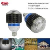 30w 50w 70w 100w LED Flood Light 40W 80W 120W LED High bay light 150w 200w 250w led bulb lamp Warm White / Cool White