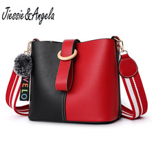 Jiessie & Angela luxury handbags women bags designer shoulder bag leather cross body messenger