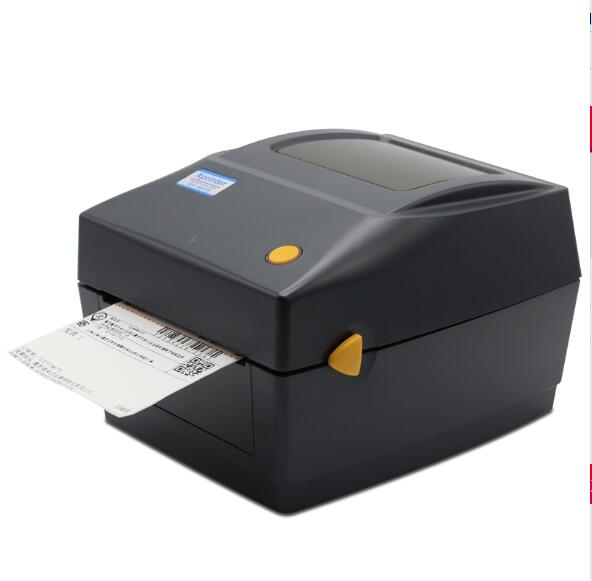 XP-460B 108mm max width Direct Thermal barcode lable printer to print shipping mark express label with outside paper roll stand high quality thermal barcode printer electronic surface single printer max print width 108mm barcode printer shipping address