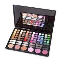 Pro Full 78 Color Makeup Nake Eyeshadow Palette Baked Fashion Waterproof Long Lasting Eye Shadow Makeup