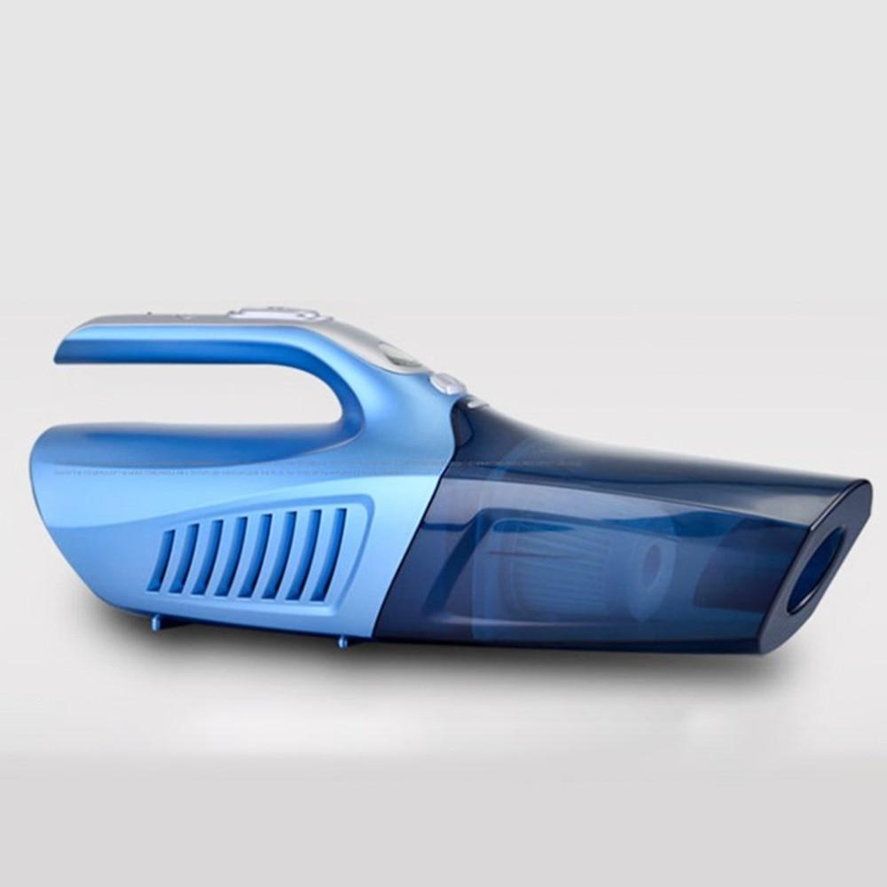 цена на 4-in-1 Handheld Car Vacuum Cleaner High Power 12V Portable Auto Wet/Dry Vehicle Vacuum 100W Power Cord Mini Vacuum