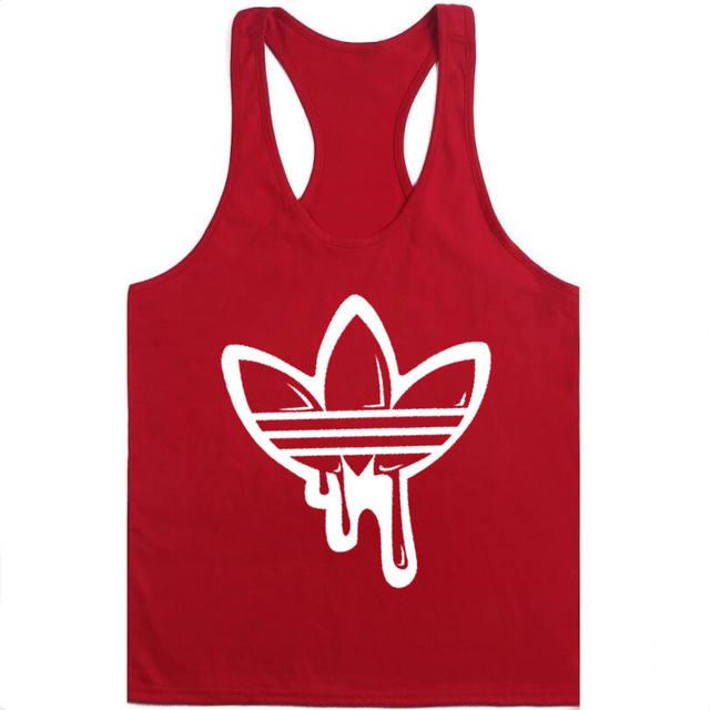 2018 Golds gyms men clothing Brand singlet bodybuilding stringer tank top men fitness T shirt muscle guys sleeveless vest