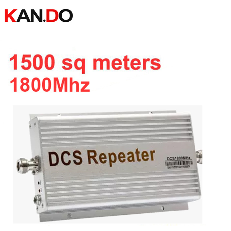 DCS Repeater 2104 New Model Gain 60dbi LCD Display Function 1800Mhz DCS Mobile Phone Signal Booster And Repeater