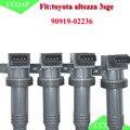4pcs /lots 90919-02236 New Ignition Coil For Toyota Altezza Gita SXE10 3SGE