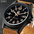 SOKI Marca Horas Reloj Digital relojes para hombre Reloj de Cuarzo de Los Hombres Relogio masculino Militar Deporte de Los Hombres Relojes Casuales