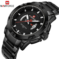 Men Watches Top Brand NAVIFORCE Luxury Men's Full Stainless Steel Quartz Clock Male Military Sport Wrist Watch Relogio Masculino