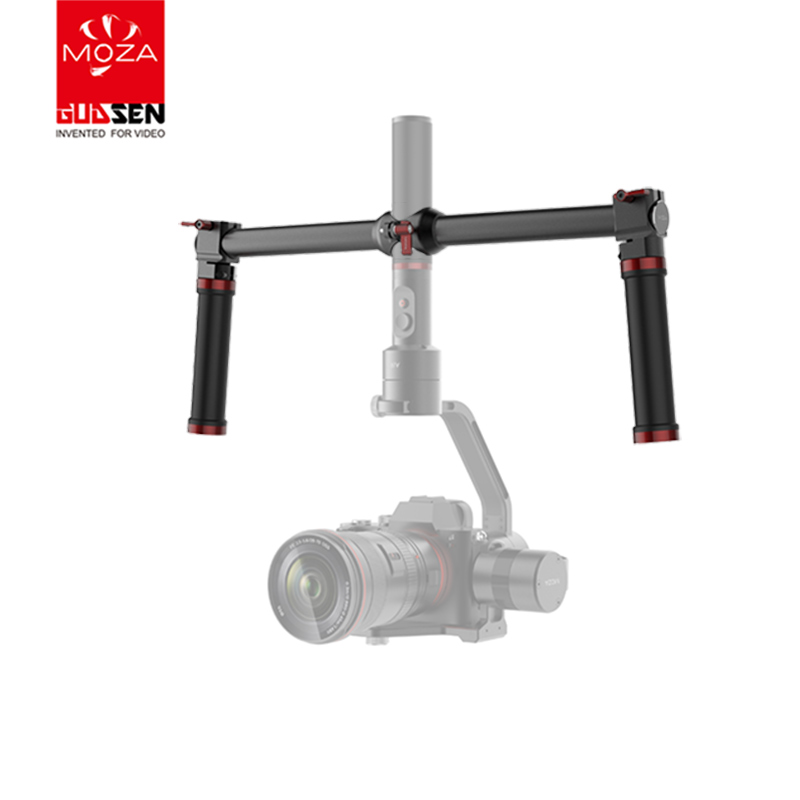 лучшая цена MOZA Dual Handheld Extended Handle handgrips for MOZA AIR MOZA AIRCROSS 3-Axis Gimbal Stabilizer